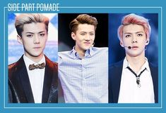 Male idols who can pull off the pomade hairstyle | allkpop.com