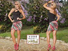 Vestido Colombianos PitBull  +Modelos en: http://www.ropadesdecolombia.com/index.php?route=product/category&path=77  #vestido #corto #ropa #moda #verano #colores #fiesta #eventos