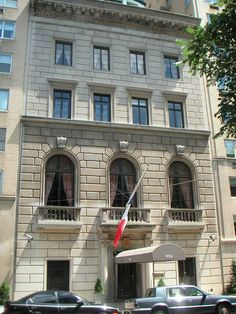 New York Architecture Images- French Consulate New York Architecture, Architecture Images, East River, Upper East Side, New York Landmarks, New Amsterdam, Sutton Place, Manhattan Nyc, My Kind Of Town