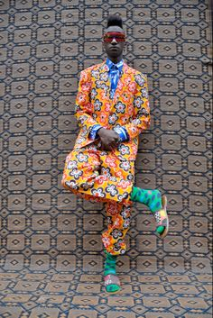 hassan hajjaj rockstars #print #mens #fashion #color