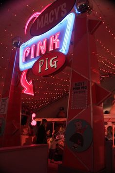 An Atlanta tradition...the Pink Pig at Macy's