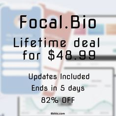 Create a custom landing page with Focal.Bio and place all your links there and share the link to that page on all your social media. Get Focal.Bio Pro Lifetime Deal before it is too late! Instagram Bio, Landing, Software, How To Get, Social Media, Create, Amazing, Link, Social Networks