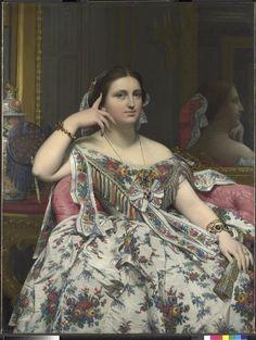 Madame Moitessier Ingres Jean-Auguste-Dominique (1780-1867)