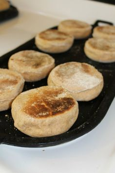 Mary's Little Corner In The Woods: Healthy Sprouted Whole Wheat English Muffins