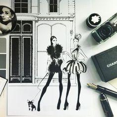 myfashion_diary: Иллюстратор Megan Hess