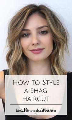 How to Style a Shag Haircut