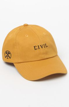 Civil Core Strapback Dad Hat at PacSun.com 5d32f0f7158c