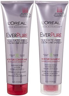 LOreal Paris EverPure SulfateFree Color Care System Moisture DUO set Shampoo  Conditioner 85 Ounce 1 each -- Check out the image by visiting the link.