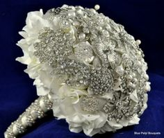 Brooch Bouquet by Nadia Brown