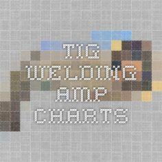 TIG Welding Amp Charts
