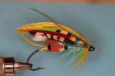 Fra Diavolo (Hammond) Fishing Lures, Fly Fishing, Steelhead Flies, Atlantic Salmon, Salmon Flies, Fly Tying, Patterns, Awesome, Classic