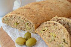 Pão de azeite integral com azeitona