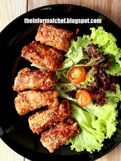 The Informal Chef: Red Fermented Beancurd Spareribs 南乳排骨