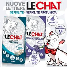 Nuove lettiere LeChat