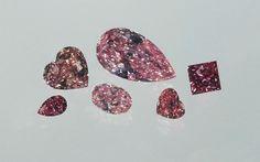 Pink diamonds. GIA (073013)