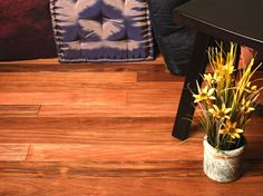Patagonian Rosewood  3/4 x 3 x 1-7' Select and Better - Prefinished Flooring