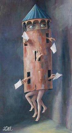 Wolfgang Lettl 1919-2008 | German Surrealist painter | Tutt'Art@ | Pittura * Scultura * Poesia * Musica |