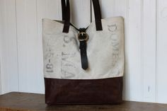 recycled u.s. mail bag purse ~ great idea!