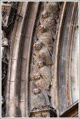 Angels.  Cathedrale St-Sauveur. Aix-en-provence