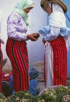 Morocco.Chefchaouen.Rif area.The souk