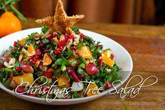 Christmas Tree Salad + 27 other vegan christmas recipes
