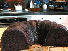 Rita's Recipes: Dark Chocolate Bundt Cake