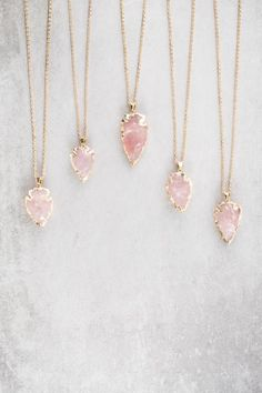 $17.99 Arrow Spear Necklace - Pink. This gorgeous necklace is available to buy now at Sale Price with Free Shipping in the US!