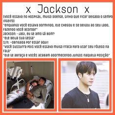 Oian só que meigo Jackson Wang, Got7 Jackson, Fanfic Kpop, Fanfiction, K Pop, Pop Photos, Bts Imagine, Kim Jong In, Imagines