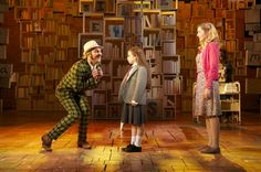 I love how the lighting hits the floor in patches.  Charlie And The Chocolate Factory, West End.