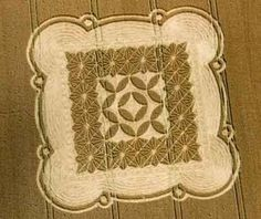 Crop circle season arrives with a mathematical message Circle Geometry, Circle Art, Circle Design, Sacred Geometry, Ancient Mysteries, Ancient Artifacts, Real Crop Circles, Nazca Lines, Aliens And Ufos