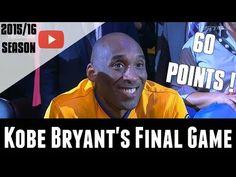 389213b1a Kobe Bryant FINAL GAME Of His Career - 60 POINTS! - Full Highlights vs Utah  Jazz - April 13