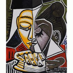 "Pablo Picasso, ""Tete d'une Femme Lisant"", 1953 photo art portraits landscapes paintings modelling Still Life religion abstract cubism surrealism architecture sculpture photography childrens kids contemporary artwork drawing artist Kunst Picasso, Art Picasso, Picasso Paintings, Oil Paintings, Picasso Prints, Picasso Self Portrait, Pablo Picasso Cubism, Picasso Collage, Indian Paintings"