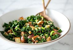 awesome wilted kale and roasted potato salad  –  A House in the Hills