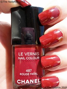 nail polish, chanel. I love the iconic Vamp and Dragon.