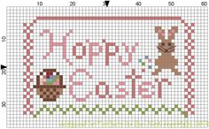 Feathers in the Nest: Hoppy Easter~~~~ free small sampler pattern