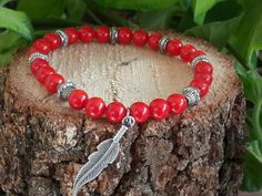 Hey, I found this really awesome Etsy listing at https://www.etsy.com/listing/260024472/red-coral-women-bracelet-gemstone-beads