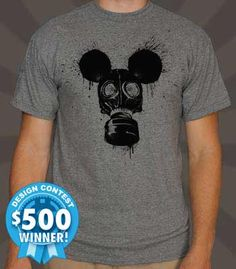 A splatter and mouse-inspired design by DOSEprod. Submit your designs HERE!                         - Professionally printed silkscreen - High-quality, 100% cotton tee - Ships within 2 business days - Designed and printed in the USA