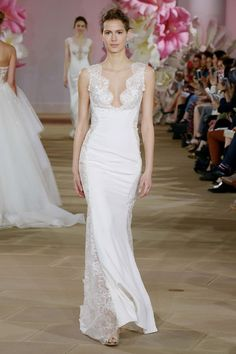 Ines Di Santo 2017 wedding dress collection - Brides reviews collection from New York Bridal Fashion Week April 2016 (BridesMagazine.co.uk)