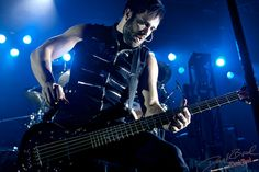 John Cooper of Skillet, lead singer and bass player!!!  Photo from: http://www.flickr.com/photos/dbkuber/5734610141/