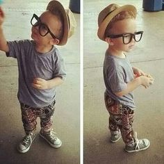 Summer boy fashion