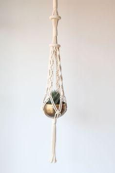 Macrame Plant Hanger Groovy