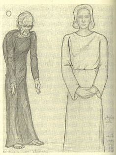 """""""this is a picture originally drawn by betty anne luca, formerly mrs james anderson, of her one of her 1989 'encounter'."""""""