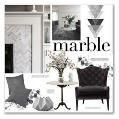 """""""Marble II"""" by artplusdesign ❤ liked on Polyvore featuring interior, interiors, interior design, home, home decor, interior decorating, Jayson Home, NOVICA, Calvin Klein and Menu"""