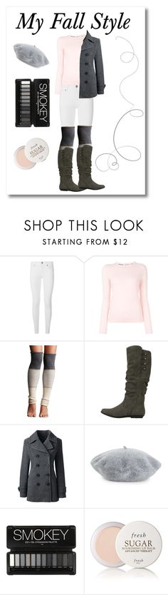 """""""My Fall Style"""" by nataliasheridan on Polyvore featuring Burberry, Tory Burch, Lemon, Cliffs by White Mountain, Lands' End, Helene Berman, Fresh and Fall"""