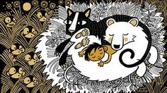 Sarah McIntyre and Philip Reeve's Jungle Book illustration
