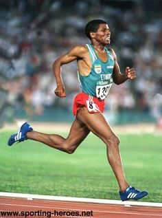 Heile Gebrselassie - The Marathon Man 2    To sum it up...The Loneliness of the Long Distance Runner
