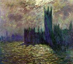 """Claude Monet. """"London"""", 1905."""