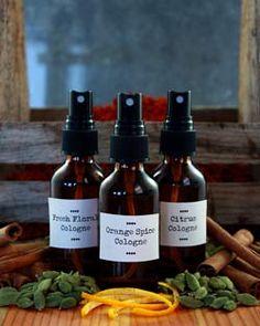 interesting recipes -  Making Botanical Perfumes
