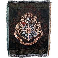 Hogwarts Crest Tapestry Throw