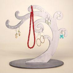 Pretty Swirl Jewelry Earring Tree & Jewelry Tree Organizer